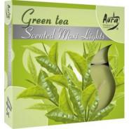 Zestaw świec zapachowych- zielona herbata 4 szt.