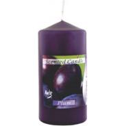 Świeca zapachowa walec- śliwka
