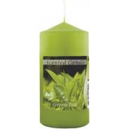 Świeca zapachowa walec- zielona herbata