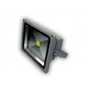 Naświetlacz LED MRS szary 10 W 008010