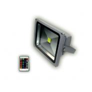 Naświetlacz LED MRS RGB DMX 10 W 115x85x80mm