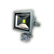 Naświetlacz LED MRS- z czujnikiem ruchu PIR 20 W 180x140x95mm
