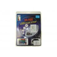 ZESTAW TAŚMA LED 5050 RGB 5M/150DIOD IP65+ZASILACZ 008008