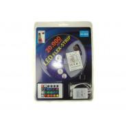 ZESTAW TAŚMA LED 5050 RGB 5M/150DIOD +ZASILACZ 008009