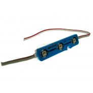 Moduł LED 3-LED5050 niebieski IP65 prostokąt 008679