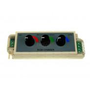 Kontroler LED ręczny 3 kanały 4A 1324