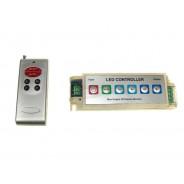 Kontroler LED RF 6 przycisków 12A + PANEL 1325