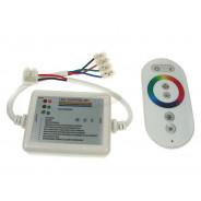 Kontroler LED RF dotykowy 18A 6 key biały 001601