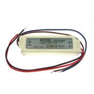 Zasilacz LED 12V 30W napięciowy IP67 plastik 1542