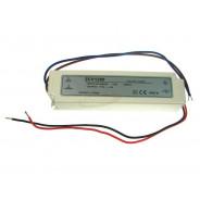 Zasilacz LED 12V 60W napięciowy IP67 plastik 151