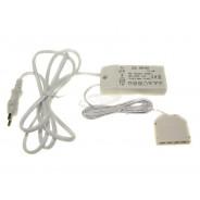 Zasilacz meblowy CV plastik 12V 6W 009976
