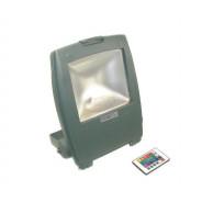Naświetlacz LED Ralf 30W RGB szary z pilotem