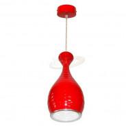 Lampa wisząca Uma led power 12W czerwona DW