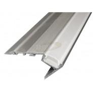 Profil LED schodowy A 1,2m srebrny klosz frosted