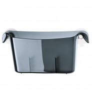 Organizer łazienkowy antracytowy Miniboks