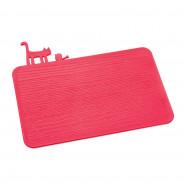 Deska do krojenia czerwona Pi:p