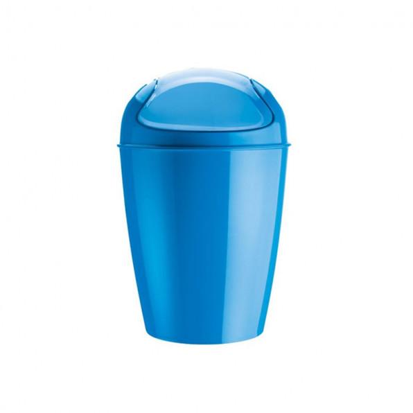Kosz na śmieci niebieski Del S