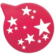 Dekorator tortów gwiazdki czerwony Tortella