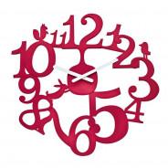 Zegar ścienny malinowy Pi:p